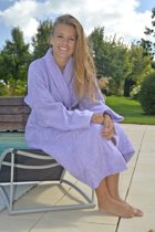 A&R™ Badjas Sjaalkraag Lavendel L/XL