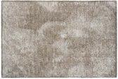 MD-Entree Vloerkleed/Deurmat Soft&Deco Velvet Beige 67 x 100 cm