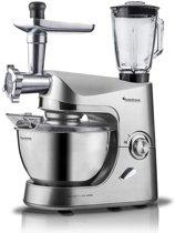 TurboTronic TT-007 - Keukenmachine - Zilver