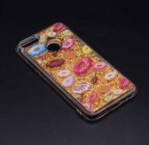 Teleplus Xiaomi Mi 5X Liquid Silicone Case Gold hoesje