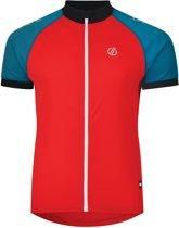 Dare2B - Accurate Jersey - Fietsshirt - Heren - Maat XL - Rood