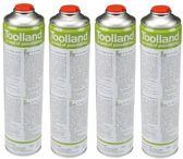 Toolland 4 x universele gasflessen voor onkruidbrander en gasbrander