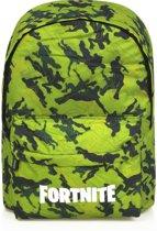 Fortnite rugzak camouflage groen / zwart