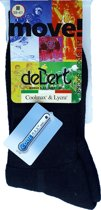 3-Pack DeBert Coolmax All Sport Socks - Zwart  - I (35/38)
