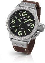 TW Steel CS25 Canteen Collection - Horloge -  45 mm - Bruin