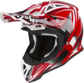 Airoh Aviator 2.3 AMS Crosshelm Fame Red Gloss-XS
