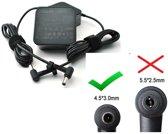 Zenbook 14 15 ORIGINEEL ASUS 90w 4.74a 19v 4,5mm pin Laptop Adapter Voeding oplader