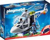 PLAYMOBIL Politiehelikopter met LED-zoeklicht - 6921