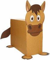 Paard zelf maken knutselpakket / sinterklaas surprise