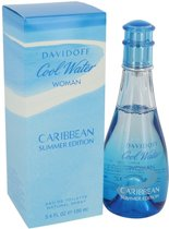 Davidoff coolwater fem carribean summer 2018 edt 100 ml spray