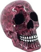 Romance schedel beeld roze - Fantasy - Nemesis Now