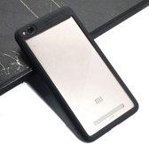 Teleplus Xiaomi Redmi 4A Double Color Silicone Case Black hoesje