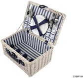 Imperial Kitchen Picknickmand 4-pers wit