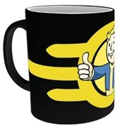 Fallout 4 - Vault Boy Heat Change Mug - Black
