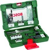 Bosch V-Line borenset - 41-delig - Voor hout, metaal en steen - Met multifunctionele bithouder - geschikt voor alle merken