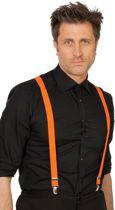 Bretels neon-oranje