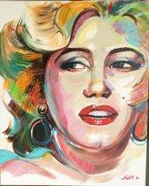 Marilyn Monroe - Handgeschilderd