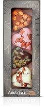 Australian Chocolade Harten met Noten - 12 verpakkingen van 100 gram