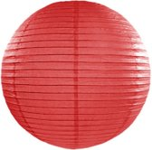 Decoratieve lampion rood 35cm