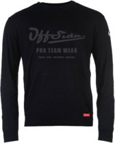 Manager .. Pullover Slim Fit Black woven - Maat XS - Off Side - incl. Gratis rugzak