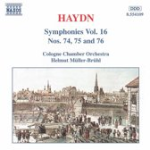 Haydn: Symphonies 74-76
