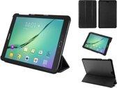 Samsung Galaxy Tab S2 9.7 Slim-fit extra luxe hoesje, Case met Trifold cover en auto-sleepfunctie, zwart , merk i12Cover *****