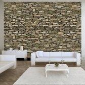 Fotobehang - Stone wall