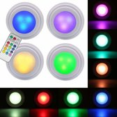 Grundig - Draadloze multi-color LED lampen set incl. afstandsbediening (5-delig)