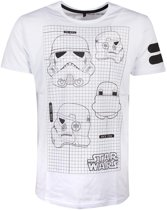 Star Wars - Star Wars Imperial Army Men s T-shirt - S