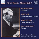 Moiseiwitsch:Rachmaninov.Medtn