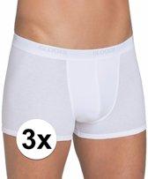 3x Sloggi basic heren shorty wit L - onderbroek