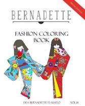 Bernadette Fashion Coloring Book Vol.14
