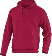 Jako Team Sweater met Kap - Sweaters  - rood donker - 5XL