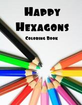 Happy Hexagons Coloring Book