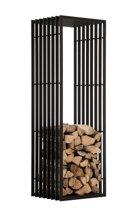 Clp Irving - Brandhoutrek - Mat zwart - 40 x 50 x 150 cm