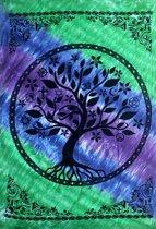 Katoenen Wandkleed - Tree of Life