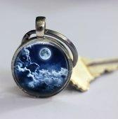 Volle maan sleutelhanger outdoor accessoires