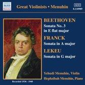 Beethoven / Franck / Lekeu: Vi
