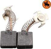 Koolborstelset voor Hitachi frees/zaag G 23SC2 - 7x17x17mm
