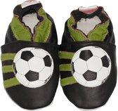 BabySteps slofjes Black soccer small