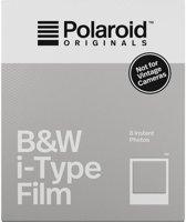 Polaroid B&W i-Type Film - 8 stuks - zwartwit