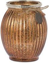 Riverdale Sfeerlicht York - copper - 14cm
