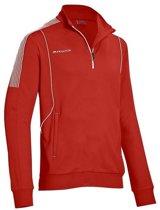 Masita Barca Zip-Sweater - Sweaters  - rood - S