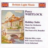 British Light Music - Whitlock: Holiday Suite etc / Sutherland et al