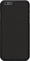 Nillkin Hard Case Synthetisch Carbon - Apple iPhone 6(S) - Zwart