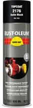 Rust-oleum Spuitverf hard hat  zwart zijdeglans-9005    2176