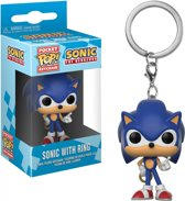 Sonic Pocket Pop Keychain - Sonic With Ring