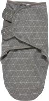 SwaddleMeyco Inbakerdoek - 0-3 maanden - Triangle grijs