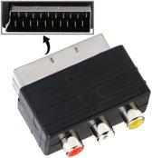 Scart aansluiting male Naar AV Kabel tulp adapter - TrendParts