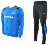 Umbro - Everton Trainingsuit - Heren - maat M